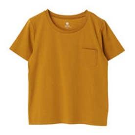 アースミュージックアンドエコロジー earth music&ecology ベーシッククルーネックTシャツ (Mustard)