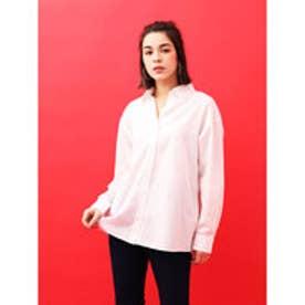 イーハイフンワールドギャラリー E hyphen world gallery ブロードベーシックシャツ (Off White)
