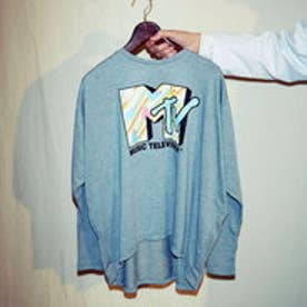 イーハイフンワールドギャラリー E hyphen world gallery MTV ドルマンプルオーバー (Gray Mixture)