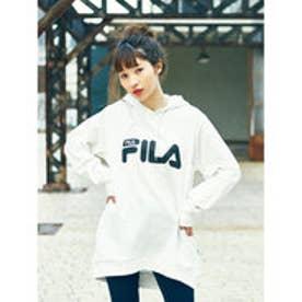 イーハイフンワールドギャラリー E hyphen world gallery FILA Bigパーカーチュニック (White)