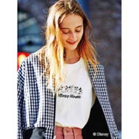 イーハイフンワールドギャラリー E hyphen world gallery MICKEY MOUSE 90th Tシャツ (Off White)