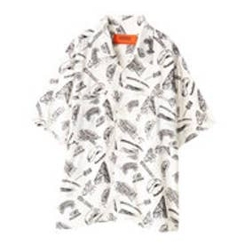 イーハイフンワールドギャラリー E hyphen world gallery UNIVERSAL OVERALL OPEN SHIRTS (White)