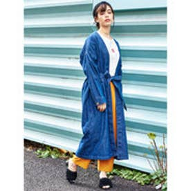 イーハイフンワールドギャラリー E hyphen world gallery Lee SHIRTS GOWN (Indigo)