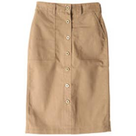 イーハイフンワールドギャラリー E hyphen world gallery UNIVERSAL OVERALL SKIRT (Beige)