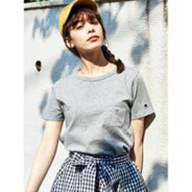 イーハイフンワールドギャラリー E hyphen world gallery Champion ポケTシャツ (Gray Mixture)
