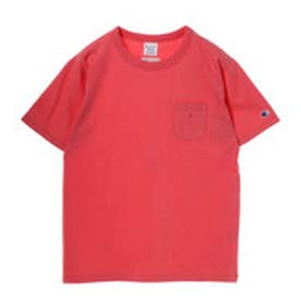 イーハイフンワールドギャラリー E hyphen world gallery Champion ポケTシャツ (Pink)