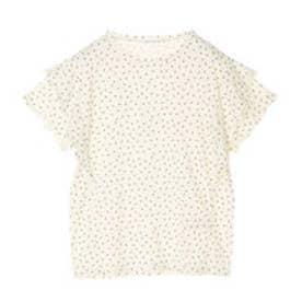 イーハイフンワールドギャラリー E hyphen world gallery フリルTシャツ (Off White)