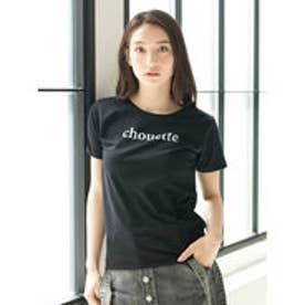 イーハイフンワールドギャラリー E hyphen world gallery ロゴプリントTシャツ (Black)