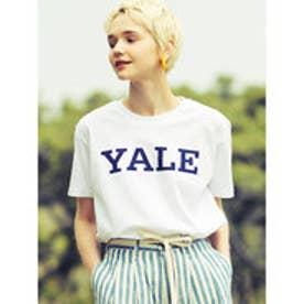 イーハイフンワールドギャラリー E hyphen world gallery YALE Tシャツ (Off White)