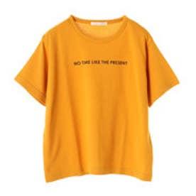 イーハイフンワールドギャラリー E hyphen world gallery メッセージロゴスウェットプルオーバー (Yellow)