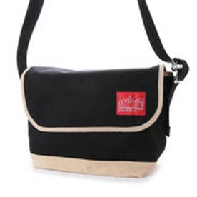 マンハッタンポーテージ Manhattan Portage Suede Fabric Vintage Messenger Bag (Black)