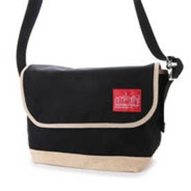 マンハッタンポーテージ Manhattan Portage Suede Fabric Vintage Messenger Bag (Black)