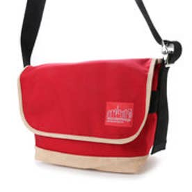 マンハッタンポーテージ Manhattan Portage Suede Fabric Vintage Messenger Bag (Red)