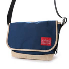マンハッタンポーテージ Manhattan Portage Suede Fabric Vintage Messenger Bag (Navy)