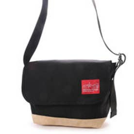 マンハッタンポーテージ Manhattan Portage Suede Fabric Vintage Messenger (Black)
