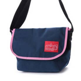マンハッタンポーテージ Manhattan Portage 2tone Casual Messenger Bag (Navy/PNK)