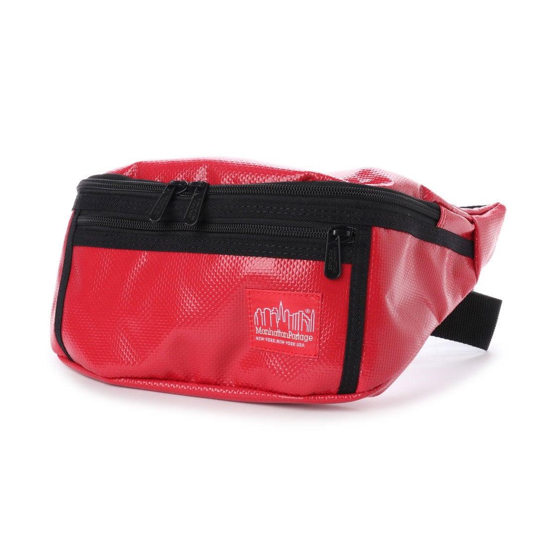 マンハッタンポーテージ Manhattan Portage Vinyl Alleycat Waist Bag (Red)