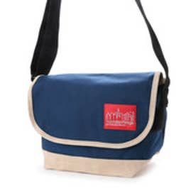 マンハッタンポーテージ Manhattan Portage Suede Fabric Casual Messenger Bag (Navy)