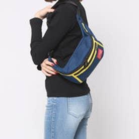 マンハッタンポーテージ Manhattan Portage 2tone Alleycat Waist Bag (Navy/YEL)