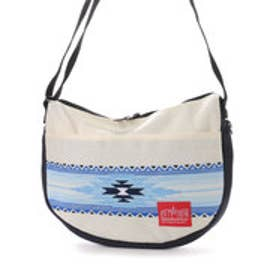 マンハッタンポーテージ Manhattan Portage Tribal Pattern Columbus Circle Shoulder Bag (Ivory/D.Navy)