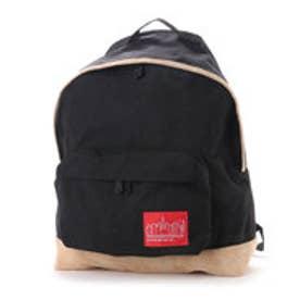 マンハッタンポーテージ Manhattan Portage Suede Fabric Big Apple Backpack (Black)