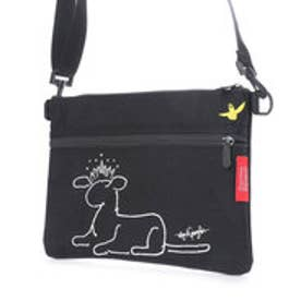 マンハッタンポーテージ Manhattan Portage × Mark Gonzales Shoulder Bag (Black)