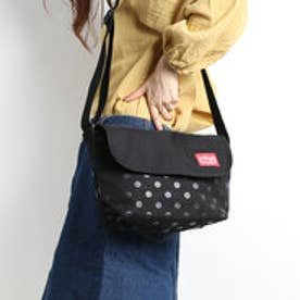 マンハッタンポーテージ Manhattan Portage Dot Print Casual Messenger Bag (Black)