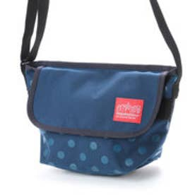 マンハッタンポーテージ Manhattan Portage Dot Print Casual Messenger Bag (Navy)