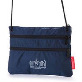 マンハッタンポーテージ Manhattan Portage CORDURA® Lite Collection Triple Zipper Pouch(L) (Navy)