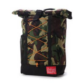 マンハッタンポーテージ Manhattan Portage BUNGEE Hillside Backpack (Black/W.Camo)