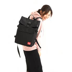 マンハッタンポーテージ Manhattan Portage Pixel Silvercup Backpack (Black)