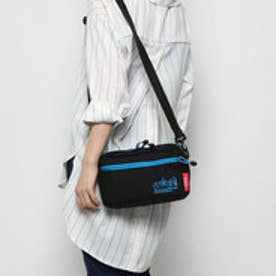 マンハッタンポーテージ Manhattan Portage Reflective Cord Jogger Bag (Black/Blue)