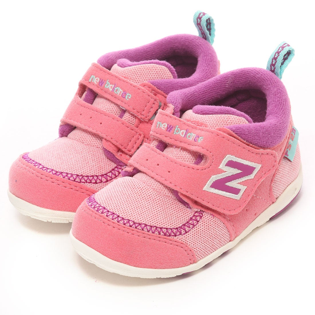 SHOE・PLAZA ニューバランス new balance ベビーシューズ FS123MCI (ピンク) ,靴とファッションの通販サイト ロコンド