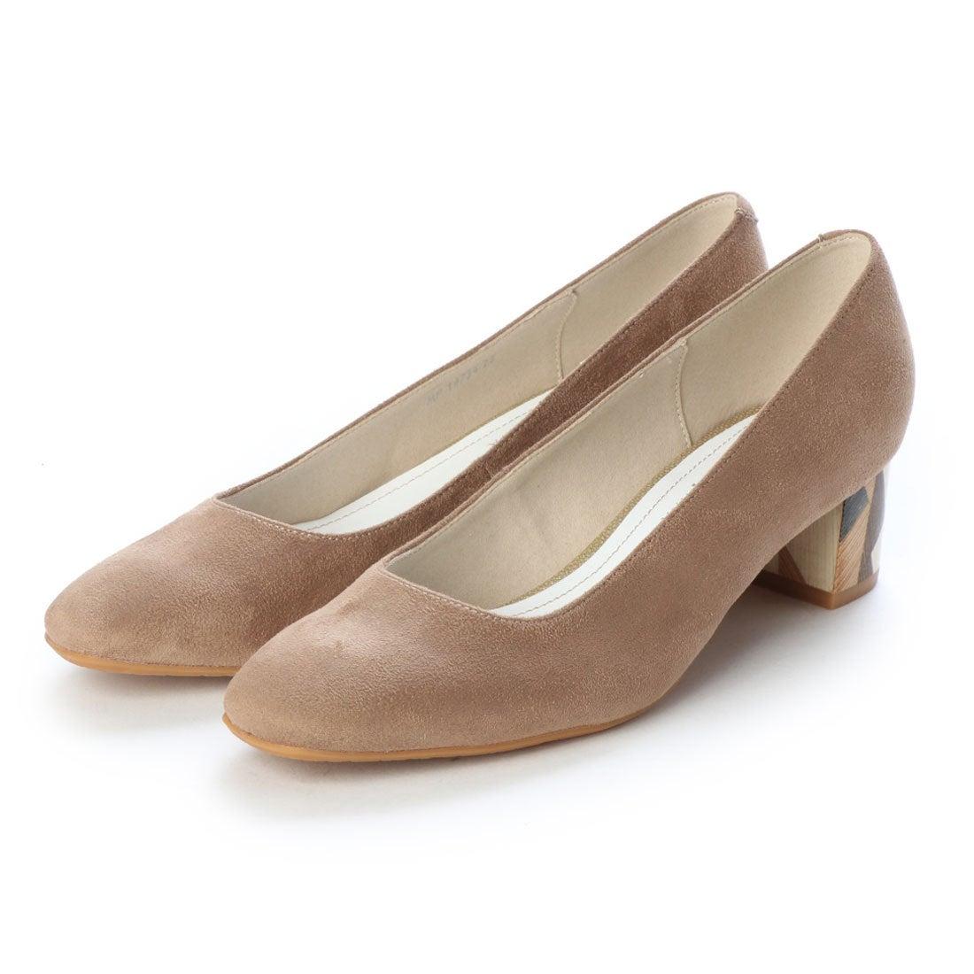 50e610fa11bf44 アルテミス バイ ダイアナ artemis by DIANA マルチカラーヒールパンプス (ベージュ合皮スエード) -靴&ファッション通販  ロコンド〜自宅で試着、気軽に返品