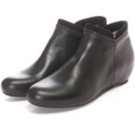 ウニサ UNISA インヒールアンクルブーツ (ブラック)
