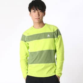 ルコックスポルティフ le coq sportif トレーニング 長袖シャツ QB-110163 [メンズ] (グリーン)