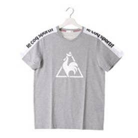 ルコックスポルティフ le coq sportif トレーニング 半袖シャツ QB-010863 [メンズ] (グレー)
