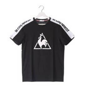 ルコックスポルティフ le coq sportif トレーニング 半袖シャツ QB-010863 [メンズ] (ブラック)