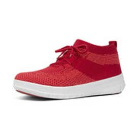 フィットフロップ fitflop UBERKNIT SLIP-ON HIGH TOP SNEAKER (Classic Red)