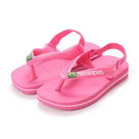 ハワイアナス havaianas NEW BABY BRASIL LOGO (shocking pink)