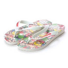 ハワイアナス havaianas MARIO BROS (kids sizes) (white)