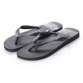 ハワイアナス havaianas TOP STRIPES LOGO (kids sizes) (black/olive green)