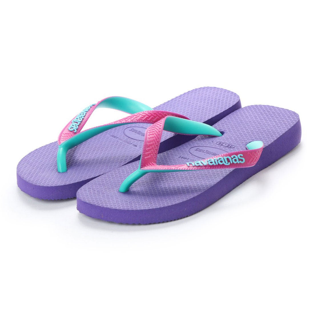 ハワイアナス havaianas TOP MIX (kids sizes) (purple / raspberry rose)