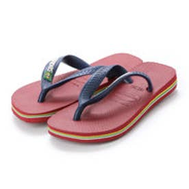 ハワイアナス havaianas BRASIL LOGO (kids sizes) (red)