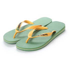 ハワイアナス havaianas BRASIL LOGO (kids sizes) (green bamboo)