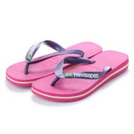 ハワイアナス havaianas BRASIL LOGO (kids sizes) (raspberry rose/new purple)