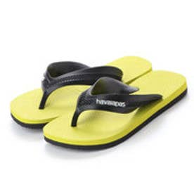ハワイアナス havaianas KIDS MAX (black/pollen yellow)