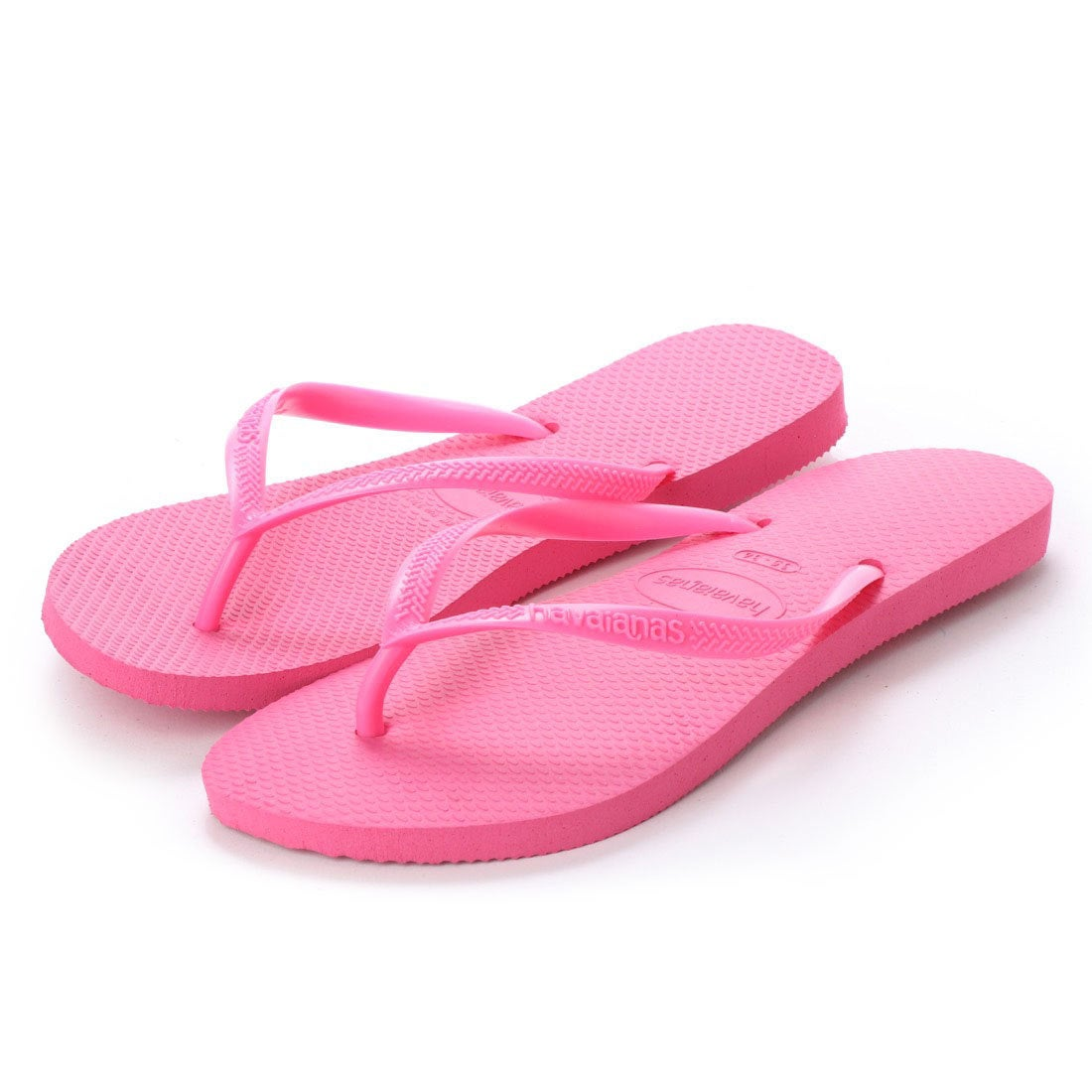 ハワイアナス havaianas SLIM (kids sizes) (shoking pink/shoking pink)