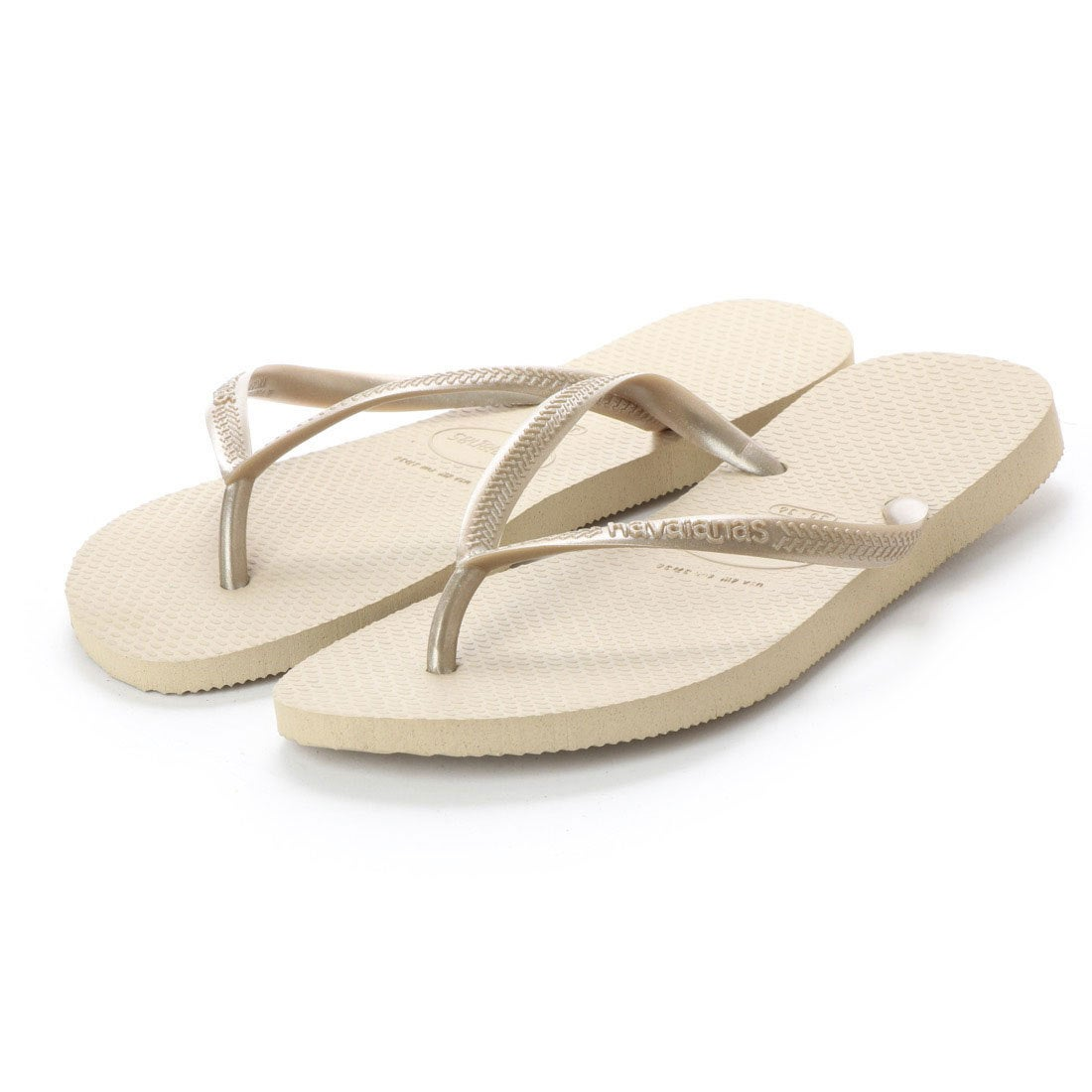 ハワイアナス havaianas SLIM (kids sizes) (sand grey/light golden)