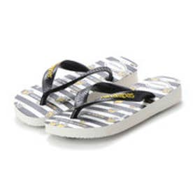 ハワイアナス havaianas MINIONS (kids sizes) (white/black)